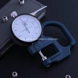 calibrador de espesor de Dail de la herramienta del contador de la escala del calibrador de espesor de la dial de 0-10m m