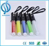 LED 소통량 스트로브 배턴 빛 안전 팽창할 수 있는 배턴 섬광 빛