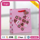 Мешки подарка кофеего магазина торта шоколада влюбленности дня Valentine бумажные