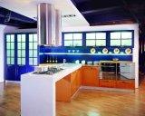 新しい食器棚-光沢度の高いラッカーラッカー台所Cabinett (007)