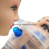 Mund Mouth die Erweckung, die CPR-Gesichts-Schild atmet