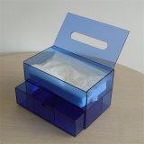 Очистить поле Napkin акрилового волокна ткани держатели-водоочиститель с выдвижной ящик