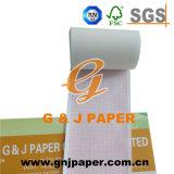 63mm*30m gráfico de ECG de papel utilizado para 3 canales de ECG-8110K/P