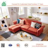Bâti de sofa tapissé sectionnel neuf de type de Recliner en bois haut arrière indien de Chester
