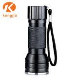 Venda por grosso de Luz Ultravioleta Blacklight Portable 21 Lanterna Tocha UV LED com bateria AAA