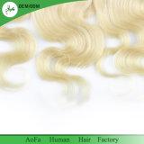 360 menschliches indisches Remy Jungfrau-Haar der Stirnbein-Farben-613#