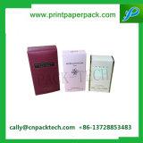Caixa de presente de empacotamento impressa cor da caixa cosmética de papel do chapéu