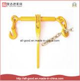 Цепь для скрепления клеем поддельных стандартного типа с храповым механизмом загрузки для скрепления клеем для цепи