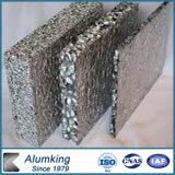 Ecológicas reciclables Material metálico de espuma de aluminio para la construcción