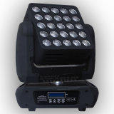 Indicatore luminoso capo mobile della tabella del rifornimento 5X5 LED di Gbr con il movimento infinito di inclinazione della vaschetta