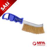 Buena calidad cepillo del cuchillo del hierro de Hcs revestido de cobre amarillo de Sali/del acero inoxidable