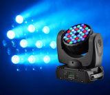 36pcsx3w RGBW Lavagem do feixe de luz de movimentação de LED com marcação CE/RoHS/FCC
