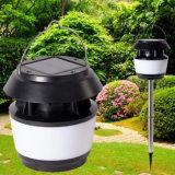 Lampada esterna chiara di campeggio solare portatile del giardino dell'indicatore luminoso di paesaggio di energia solare della lanterna 8PCS LED con la cosa repellente della zanzara