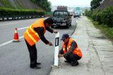 Auto-estrada Refelctive delimitadores fixos de PVC flexível