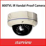 caméra de sécurité à l'épreuve du vandalisme de dôme de télévision en circuit fermé de 800tvl IR (D14)