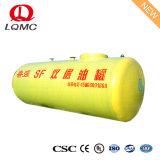 Serbatoio sotterraneo del combustibile d'acciaio rivestito della plastica di rinforzo vetroresina di Sf