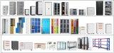 Masyounger Presentación de metal de grapas de acero de Armario de almacenamiento de archivos de Office lateral del gabinete de la carpeta de bloqueo de seguridad