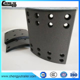Garniture de frein de métal Non-Asbestos Semi 4707 utilisé sur Semi-remorque