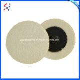 Feutre de laine de polissage pour roue en acier inoxydable produits électriques et miroir de verre