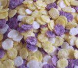 Copos de maíz el cereal de desayuno que hace la máquina