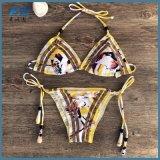 女性のMOQのない安いビキニのBeachwearのための水着