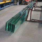 Договорная 10мм 12мм прозрачного закаленного ламинированного стекла