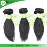 1つの1の良質を加工されていないインドの人間の毛髪と自由に買いなさい