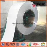 Alumínio revestido da bobina do PE & do PVDF de Ideabond
