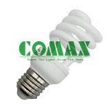 3 색 CFL 점화 T2 절반 나선형 시리즈 에너지 절약 램프