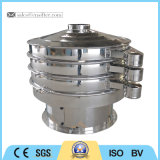 Setaccio rotativo del setaccio di vibrazione della polvere dell'alimento pieno dell'acciaio inossidabile