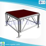 1.22*1.22m Highquality Aluminum Stage Used für School Activities auf Sale