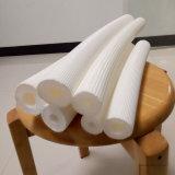 Tubo dell'isolamento con i tubi di rame isolati ignifugi sporti e chiusi del polietilene bianco delle cellule
