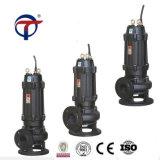 fabbrica di vendita calda della Cina della pompa per acque luride del ghisa di aspirazione di 7.5kw 4inch