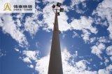 Heißes BAD galvanisierte Stahlantenne Pole für Telekommunikation/Beleuchtung Pole
