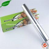 folha de alumínio de papel de Wapping do alimento da folha de alumínio da têmpera 8011-O
