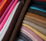 Tissu de suède pour le suède micro doucement poly de vêtement de vêtement