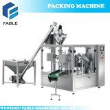 ジュースの粉のねじエレベーター(FA8-300-P)が付いている回転式満ちるパッキング機械