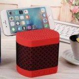 Haut-parleur de Bluetooth de tissu avec FM et support de téléphone mobile du support USB Dirver