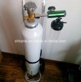 Cilindro di ossigeno d'acciaio standard di iso 9809 (2L-80L) con la valvola e la protezione