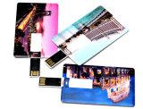 Forme de carte de crédit stylo lecteur Flash USB, lecteur flash USB de carte de crédit1GO 4 GO 8 GO de 16Go et 32 Go USB 3.0 avec votre logo
