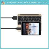 Schwarzer Typ 3.0 C USB-Aufladeeinheits-Kabel Belüftung-1m für Anmerkung 7 S8 der Samsung-Galaxie-S8 plus