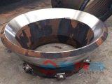 Pezzi di ricambio concavi del frantoio per pietre del manto concavi e manto