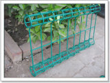 Double Loops Fences with Low Carbon Iron Wire