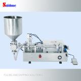 Máquina de llenado de pistón semiautomática para agua de lavado de boca