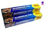 De Aluminiumfolie van het huishouden voor///Opslag/Voedsel dat roostert verpakt roostert bevriest
