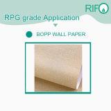 Libre de bois PP papier synthétique de l'étiquette pour réservoir à essence