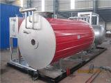 La horizontal calentadores de fluido térmico de gran eficiencia.