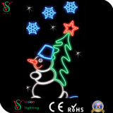 Heißes Weihnachtsmotiv-dekoratives Licht für Gebäude-Dekoration