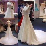 Линия платье венчания Wgf059 мантии Mermaid Bridal