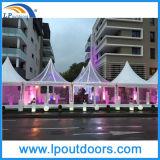 5X5m Transparent Hochzeitsfest Marquee Pagoda Tent
